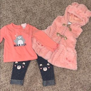 Little Lass Matching Sets - 18 month outfit